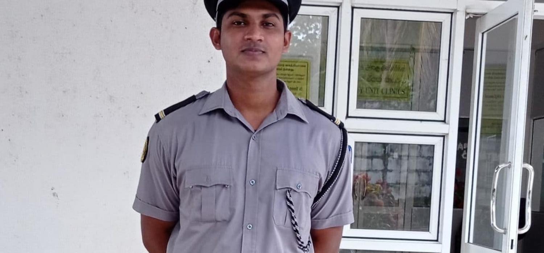1. sanjaykanth at his work place