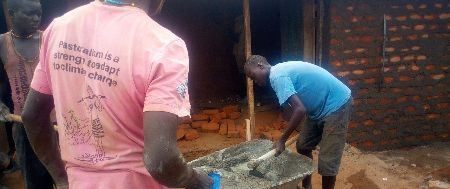 Agroup of two boys started earning money in kotido district after the training