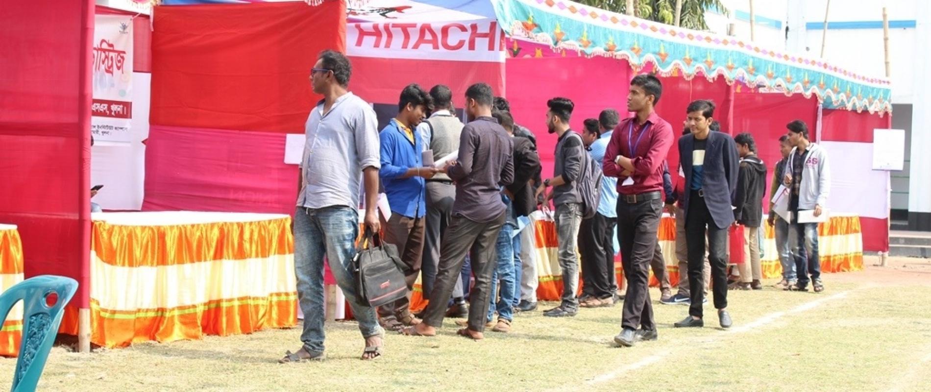 Job fair arranged by jbs