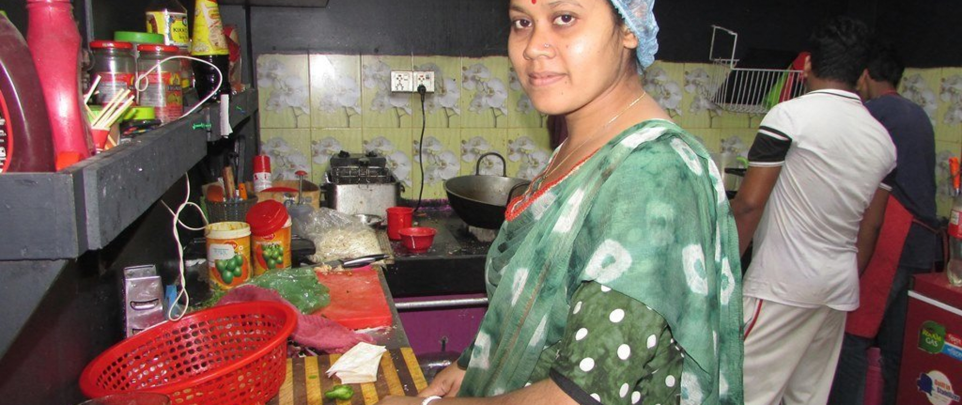 Testimony 03 lipika das is cooking for customers