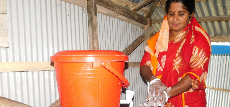 Testimony 3 madhuri mondal is washing her hands