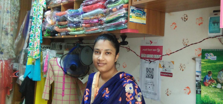 Testimoy 3 moumita bose in her boutique shop