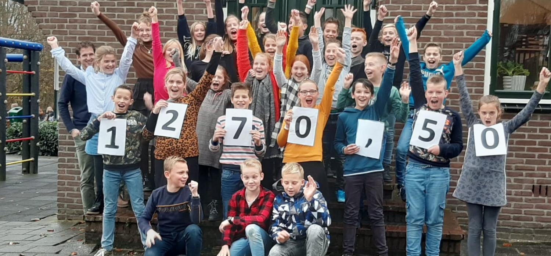 SMDB Streefkerk in actie voor Geef ze een TIEN