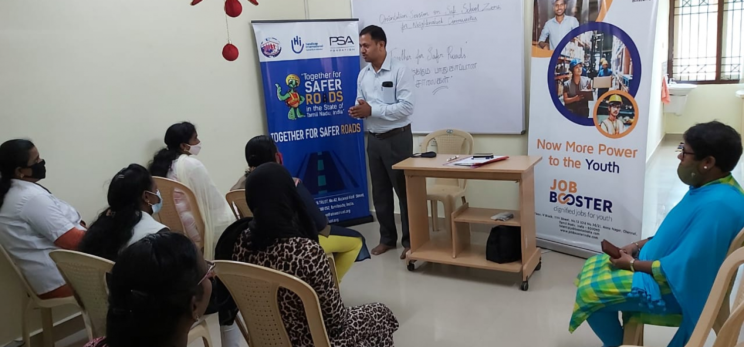 Womencab drivers training meet @ jobbooster office safety during covid times (2)