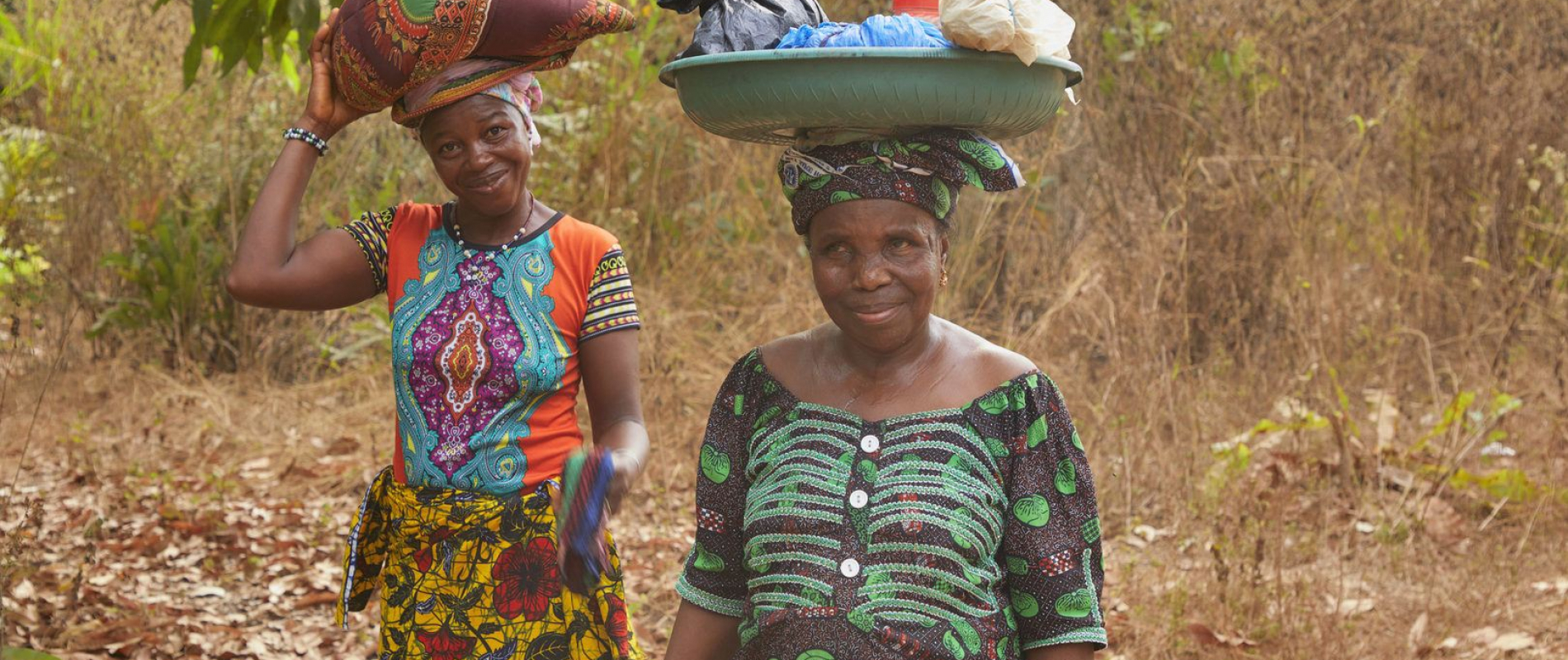 Sierra Leone Madigba community Cashew tuinen Foto Jaco Klamer 31-1-2020