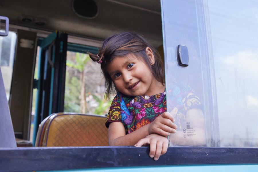 Guatemala Guatemala city AMG school naast primair onderwijs op het platteland Nim Jay 20-3-2018 foto Jaco Klamer